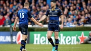 Jordan Larmour and Rob Kearney look set for a battle for the 15 jersey at both provincial and international level