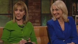 Joan Freeman and Theresa Lowe | The Late Late Show