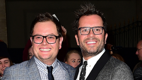 Alan Carr and Paul Drayton are honeymooning in Mexico