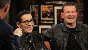 A very funny trip down memory lane - Christy Dignam and Billy McGuinness on Friday's Late Late