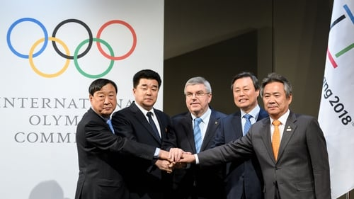 Unity deal brings together North and South Korea in Pyeongchang