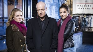 Jake Wood as Max with on-screen daughters Abi (Lorna Fitzgerald, left) and Lauren (Jacqueline Jossa)