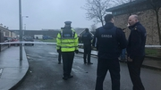 Gardaí were alerted to the shooting incident at Bridgeview halting site on the Cloverhill Road, Dublin, shortly after 3pm
