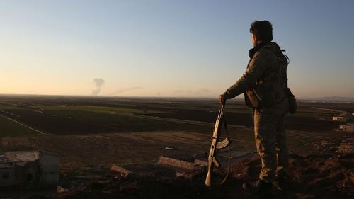 Turkey Steps Up Offensive Against Kurdish Militia in Syria