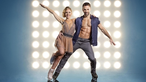 Stephanie Waring and partner Sylvain Longchambon