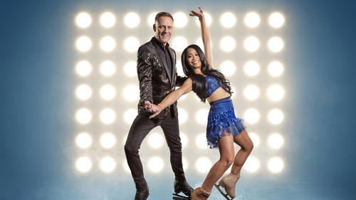 Dancing On Ice star rushed to hospital with two fractured ribs