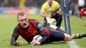 Keith Earls starts for Munster against Ospreys