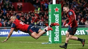 Quarter-final wins for Munster and Racing would set up a semi-final clash between Simon Zebo's  current and future employers