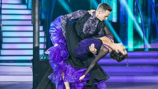 Deirdre O'Kane's pro dancer John Nolan Edward said she will show softer side on Sunday's show on DWTS