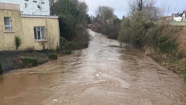 Mountmellick flooding