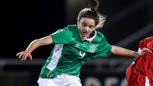 Leanne Kiernan found the net for Ireland