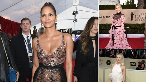 The stars took to the red carpet at the 24th annual Screen Actors Guild Awards
