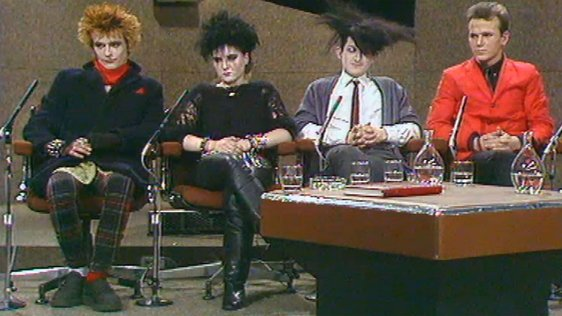Punks and Mods on The Late Late Show (1983)