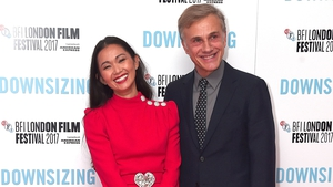 Christoph Waltz praises his Downsizing co-star Hong Chau