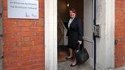 Former garda commissioner Noírín O'Sullivan arrives to give evidence at the Disclosures Tribunal