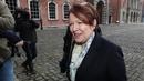 Former garda commissioner Noírín O'Sullivan arrives to give evidence at the Disclosures Tribunal