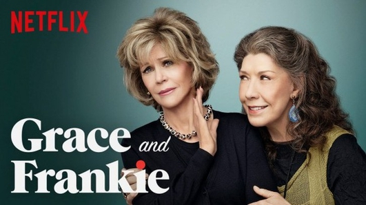 """Grace and Frankie"" on Netflix"