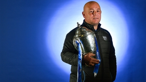 Derek McGrath pictured at the launch of the Allianz Hurling League, which he won back in 2015 with Waterford