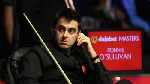 Ronnie O'Sullivan has said he will probably miss the 2018 World Championship