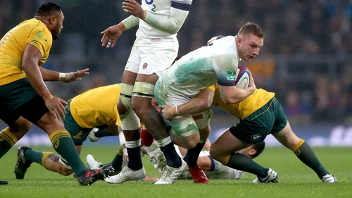 Sam Underhill is a doubt for England's Six Nations campaign