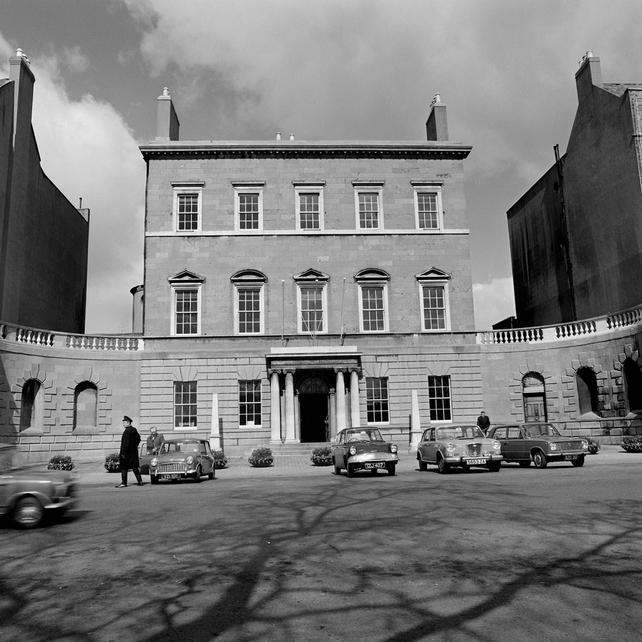 Hugh Lane Gallery, Charlemont House on Dublin's Parnell Square, in April 1972.