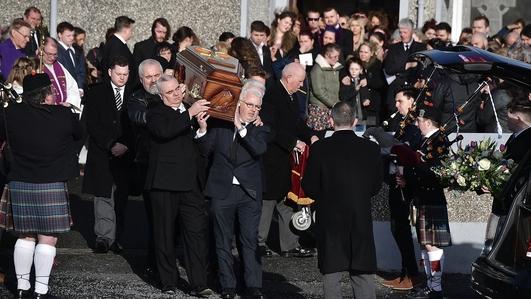 Funeral of Dolores O'Riordan