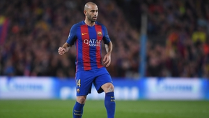Javier Mascherano made 334 appearances for Barcelona.