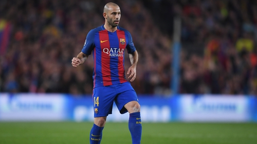 Mascherano joins galaxy of stars in China
