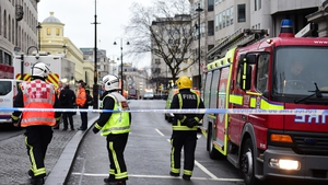 Major road in central London was sealed off to deal with the gas leak