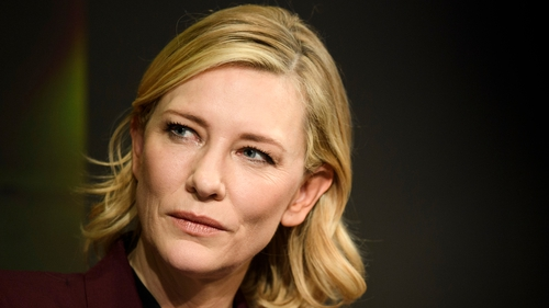 Cate Blanchett told the WEF over 22million people in the world are refugees, and half of them are women and girls