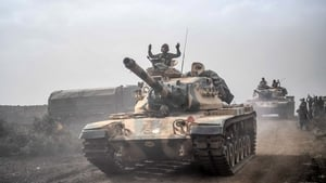 Turkish troops are carrying out the second major incursion into Syrian territory during the civil war