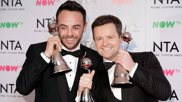 Ant and Dec will be briefly reu-Knighted on next Saturday's Takeaway