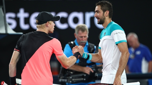 Marin Cilic had too much in the end for his English opponent