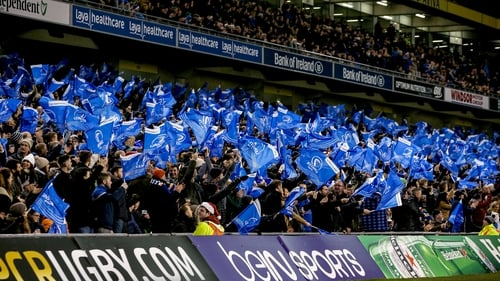 Leinster will expect a capacity crowd for their home quarter-final against Saracens