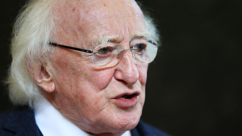 President Higgins said the issues that will test EU are common to everyone on the planet