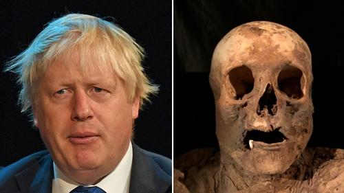 Swiss church mummy 'is Boris Johnson's ancestor'