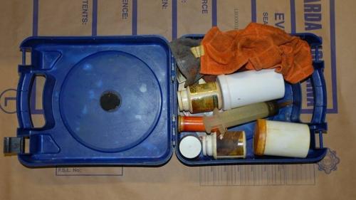 Gardaí Discover Suspected Crystal Meth Lab