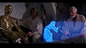 May the hologram be with you
