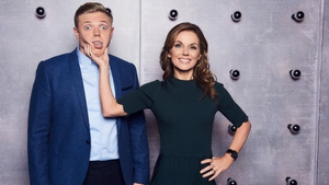 Rob Beckett and Geri Horner from All Together Now