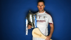 Colm Callanan pictured with the Dr Croke Cup
