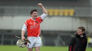 Cahal Carvill in the Armagh colours