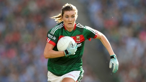 Grace Kelly bagged one of the Mayo goals at Pearse Stadium