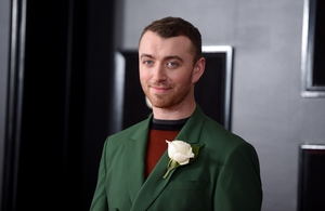 Sam Smith: struggled in teenage years with body image