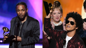 Kendrick Lamar and Bruno Mars were the big Grammy winners last Sunday
