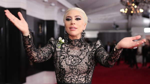 Lady Gaga wowed in two contrasting outfits at the 60th Grammy Awards