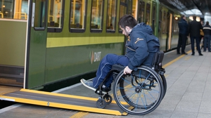 Last week Iarnród Éireann launched a pilot scheme on DART services to improve accessibility for wheelchair users