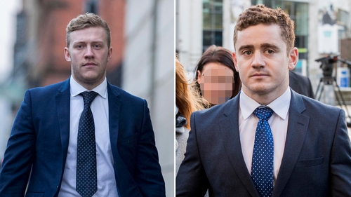 Both Stuart Olding and Paddy Jackson deny the charges