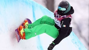Snowboarder Seamus O'Connor is heading for his second Winter Games