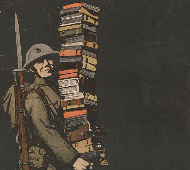 Edition 119 Century Ireland - Soldier with books