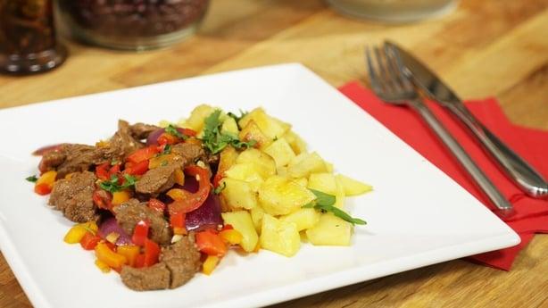 South American Beef Stir Fry